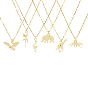 Espirit Animal Pendants by metier by tomfoolery. Shop metier by tomfoolery online at tomfoolerylondon.co.uk